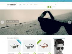 漂亮的眼镜销售公司html5网站模板