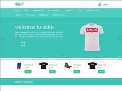 一款非常漂亮的绿色购物网站响应式布局购物网站html模版