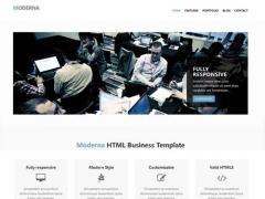 响应式布局企业网站html模版