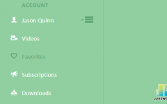 一款CSS3可展开折叠左侧边栏菜单jQuery插件