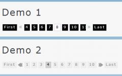 一款可滚动的jQuery分页插件jPaginate