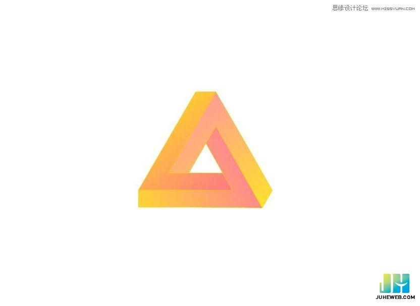 CorelDraw设计logo教程制作个性的三角形企业LOGO