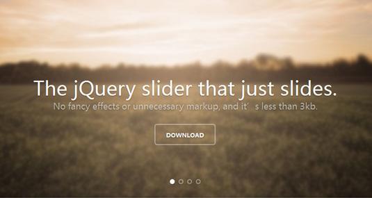 宽度自适应宽屏大图滑动幻灯片轻量jQuery插件