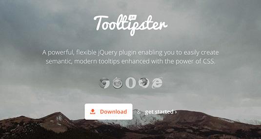 一个强大,灵活的jQuery插件使您能够轻松地创建增强CSS的强大的语义,现代的工具提示