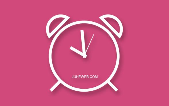 js制作SVG时钟效果