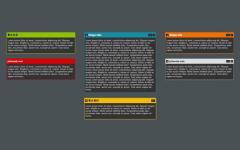 iNettuts网页拖动拖拽模块和编辑模块样式jquery插件