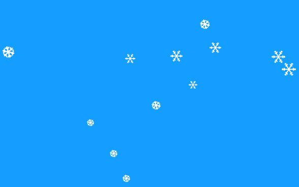 js圣诞节网站页面全屏飘雪花效果