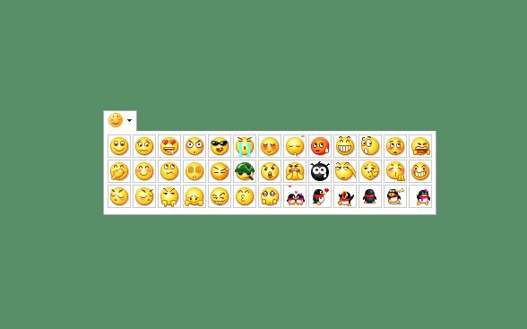 js文本框添加表情功能展示